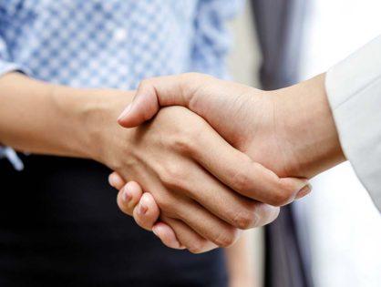 Brand - Starts with a handshake