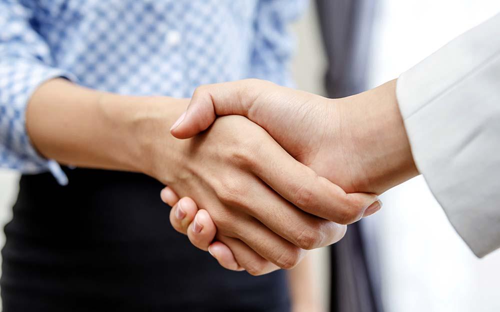image of handshake